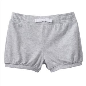 Jumping Beans Solid Gray Bubble Shorts New